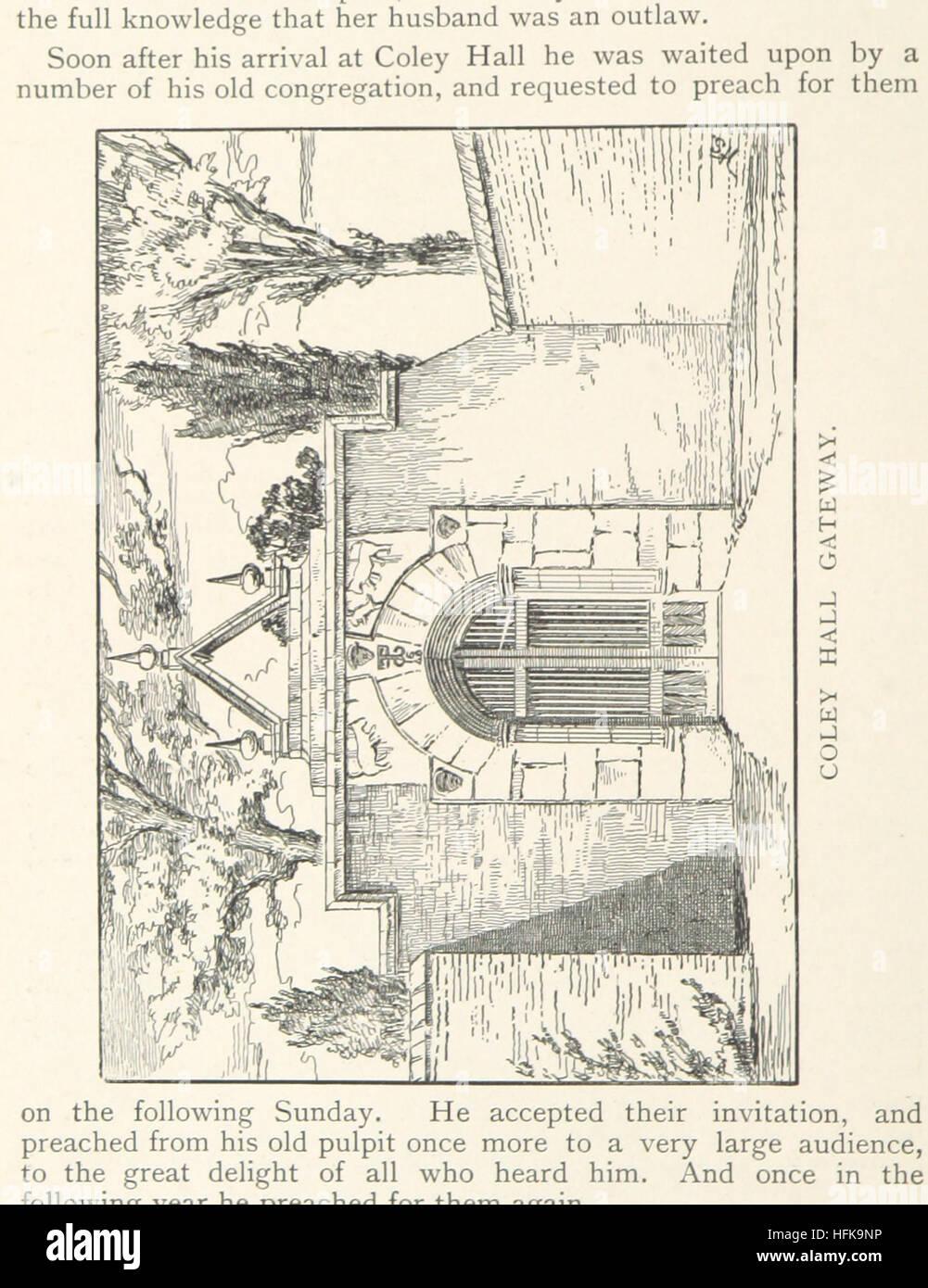 """Imagen tomada de la página 114 de """"Northowram, W. R. Yorks: su historia y antigüedades. Con una vida de Oliver Heywood, etc"""" imagen tomada de la página 114 de """"Yorks Northowram, W R Foto de stock"""