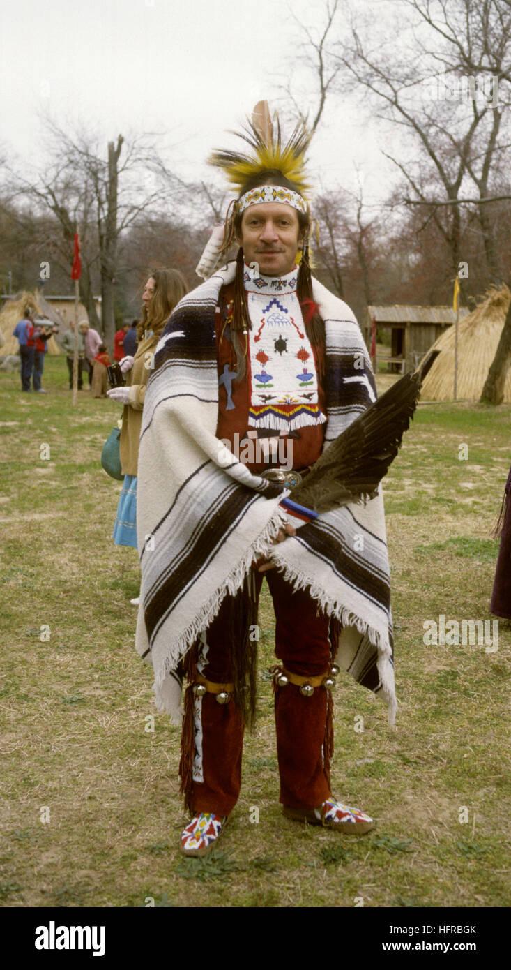 Los indios con trajes Imagen De Stock