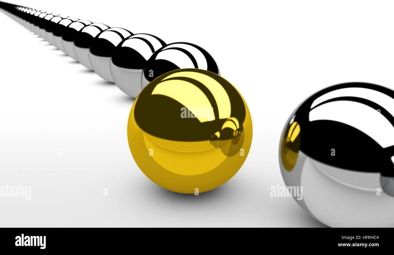 Innovación y visión de negocio nuevo concepto. Imagen De Stock