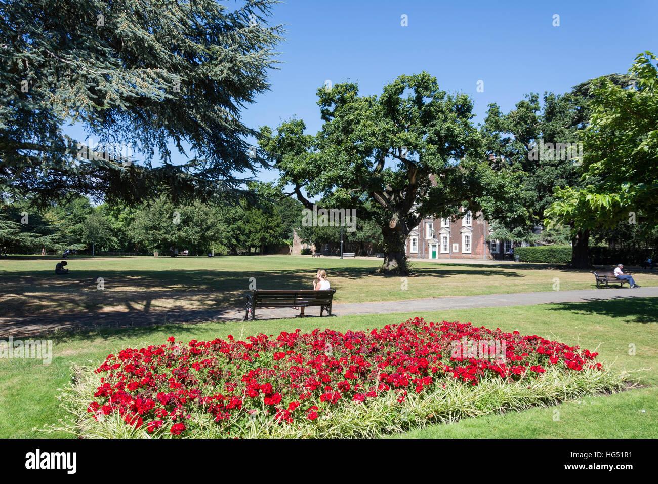 Boston Manor Park, Brentford, Hounslow, London Borough of Greater London, England, Reino Unido Imagen De Stock