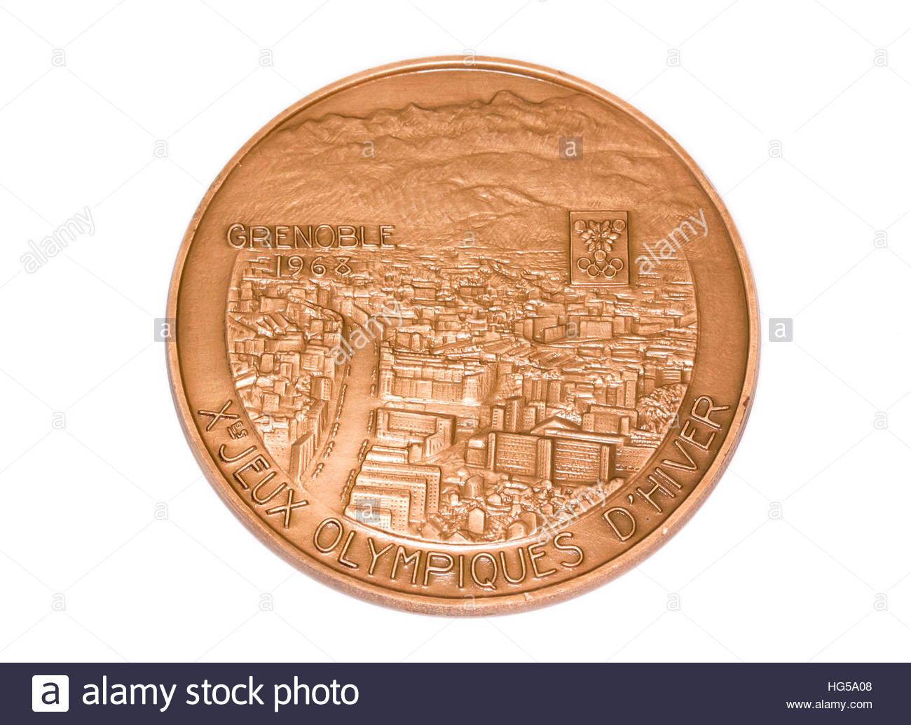 Los Juegos Olimpicos De Invierno De 1968 De Grenoble Medalla De