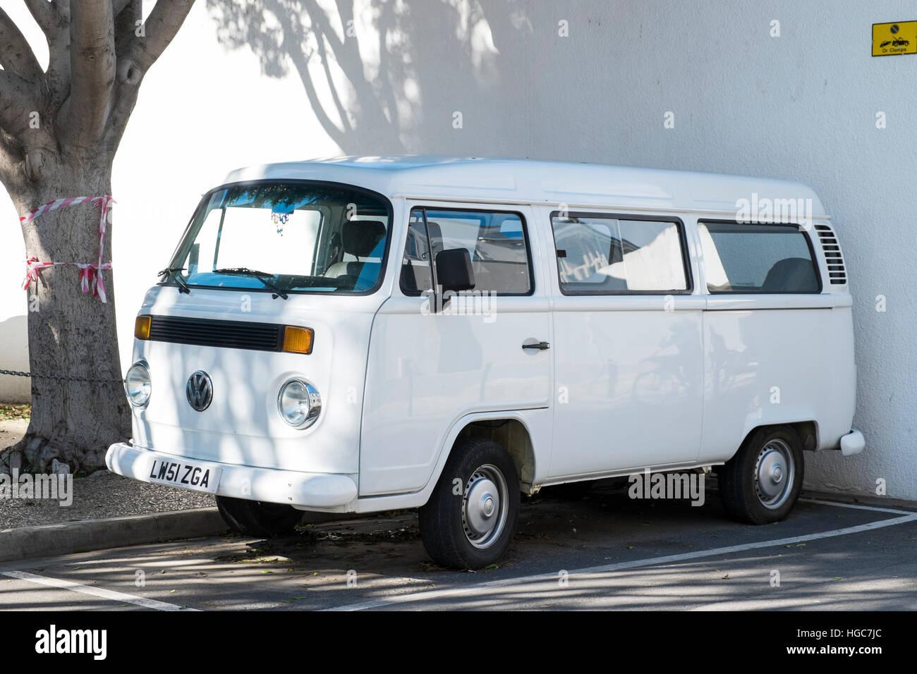 Furgoneta Volkswagen Foto de stock