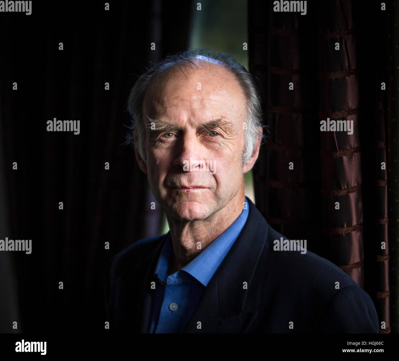 El explorador Sir Ranulph Fiennes Imagen De Stock