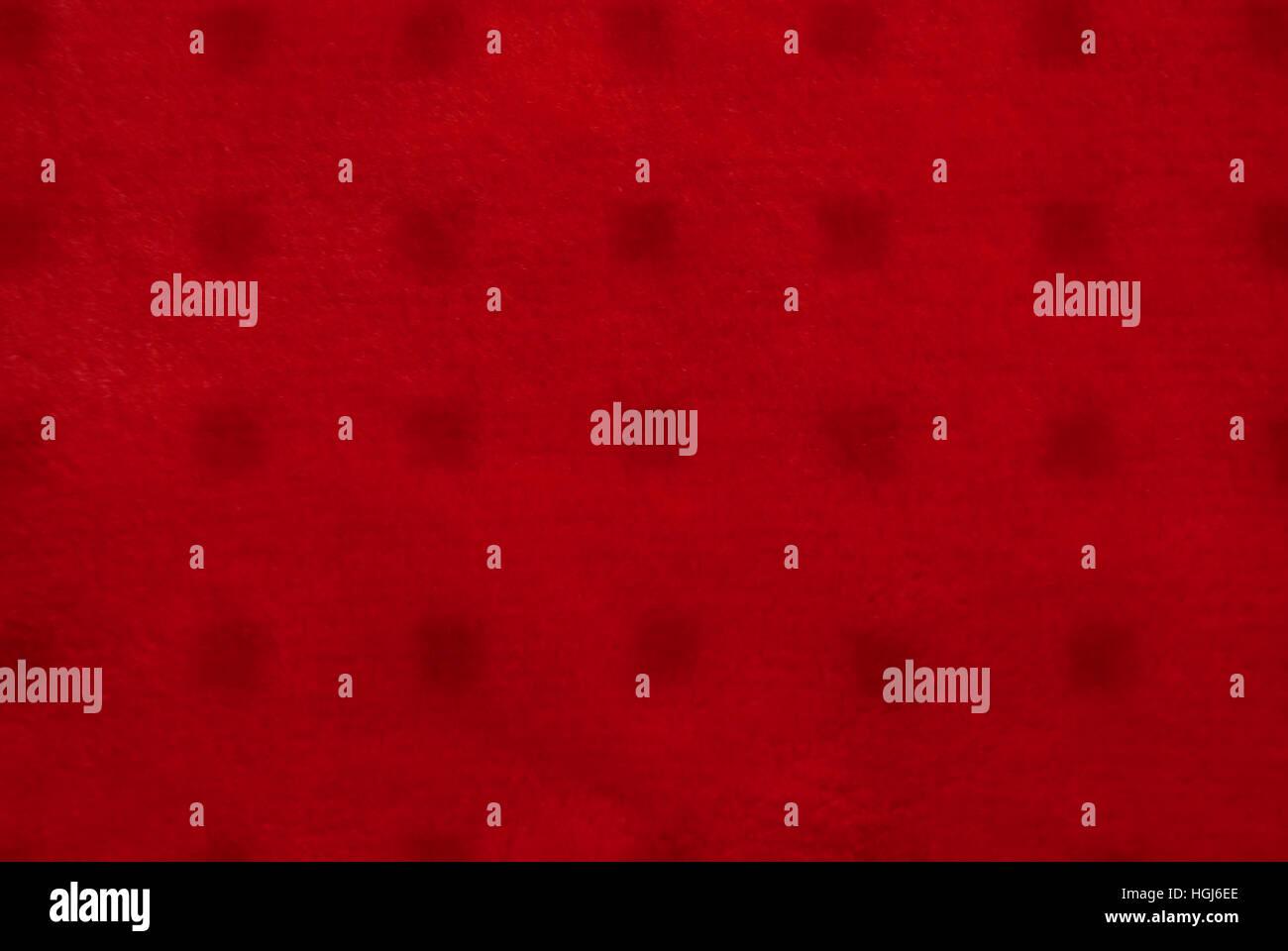 Cerca de textiles de color rojo la textura del fondo. Imagen De Stock