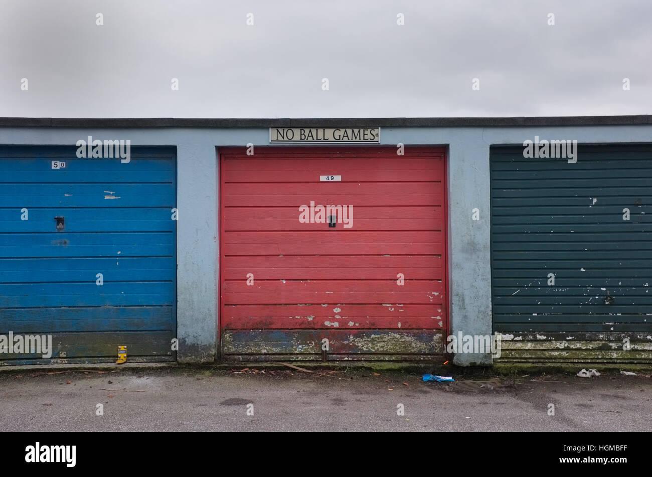 Cerradura para garajes Imagen De Stock