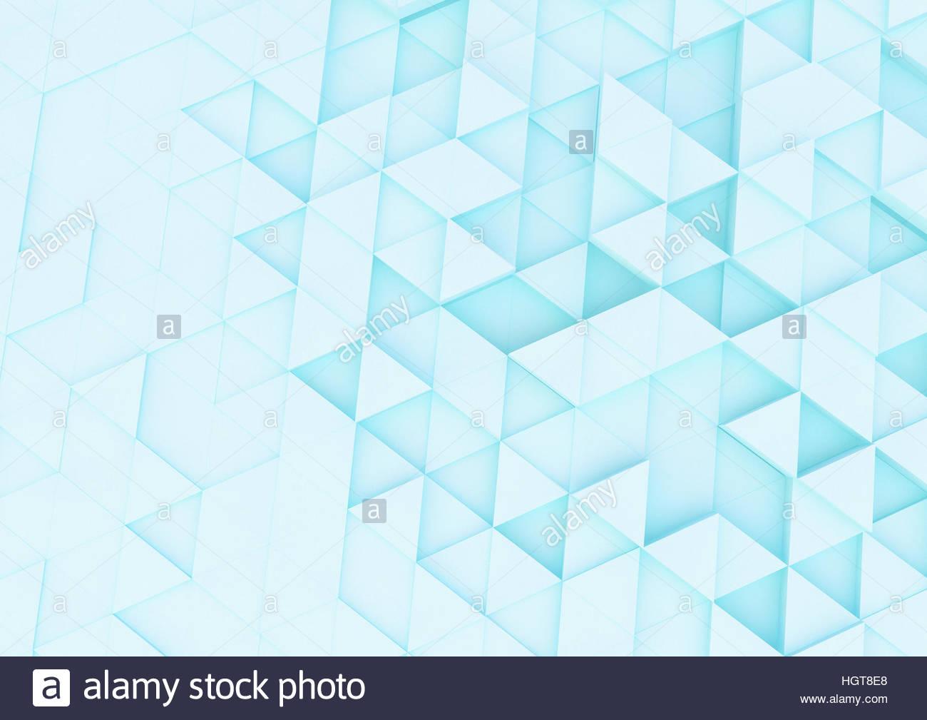 Brillantemente iluminada abstracta de triángulo de fotograma ...