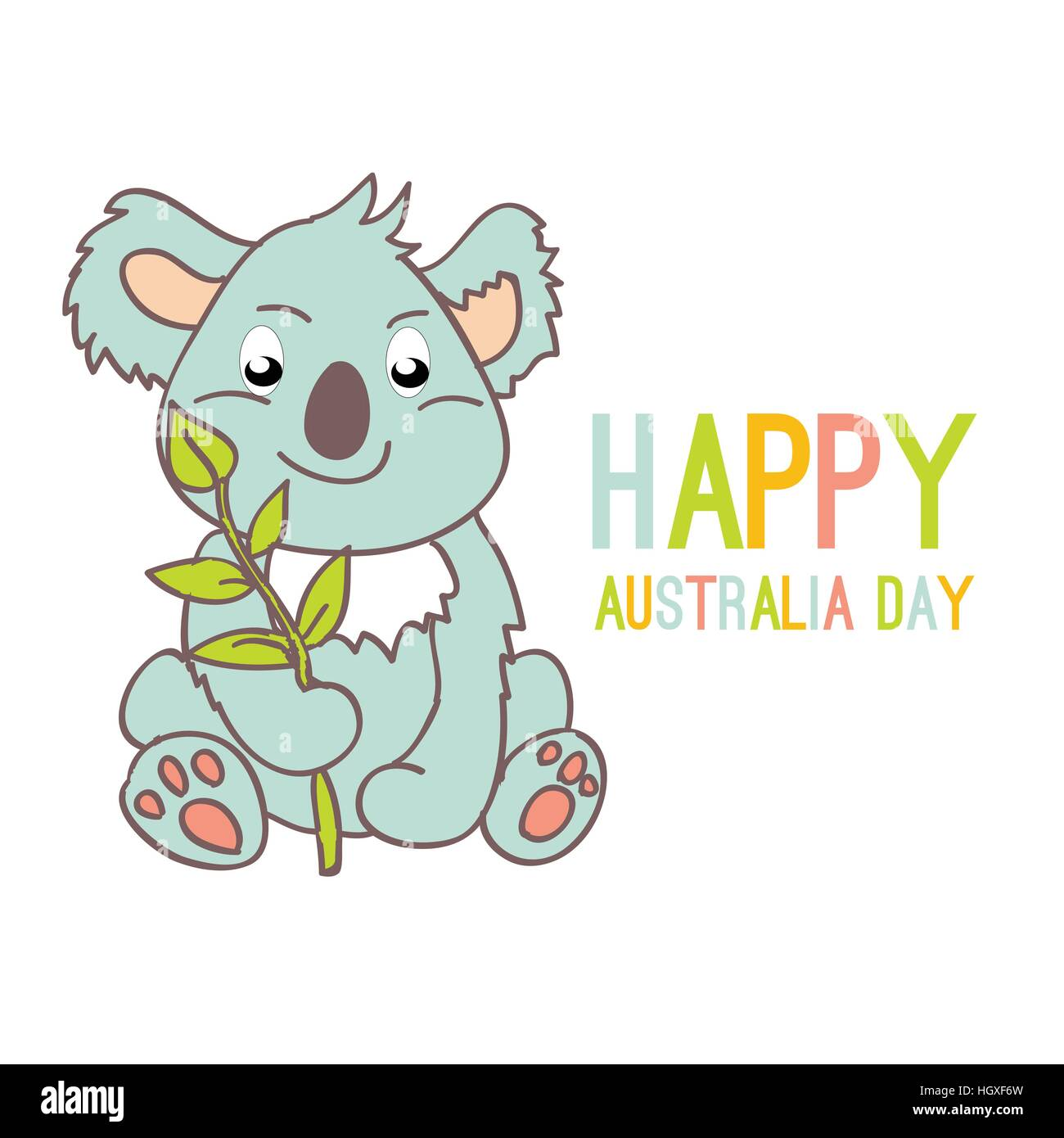 Koala Vector Imágenes De Stock & Koala Vector Fotos De Stock ...