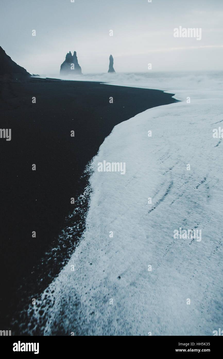 Islandia en invierno Imagen De Stock