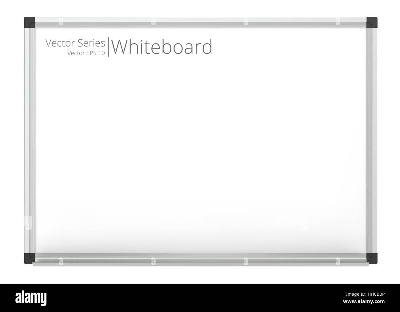 Clásico de pizarra en blanco para copiar el espacio. Vector EPS10. Imagen De Stock