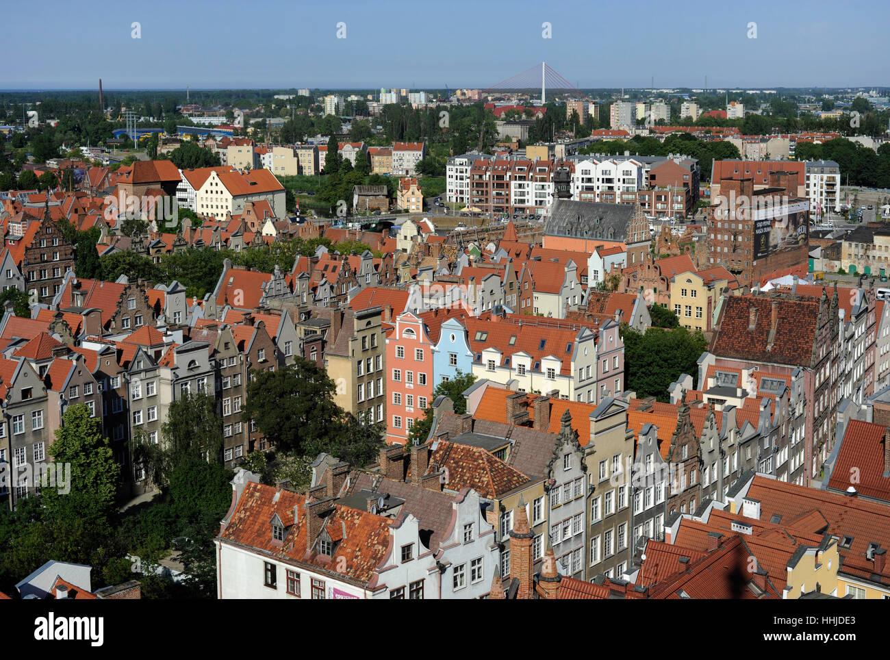 Polonia. Gdansk. Centro Histórico. Imagen De Stock