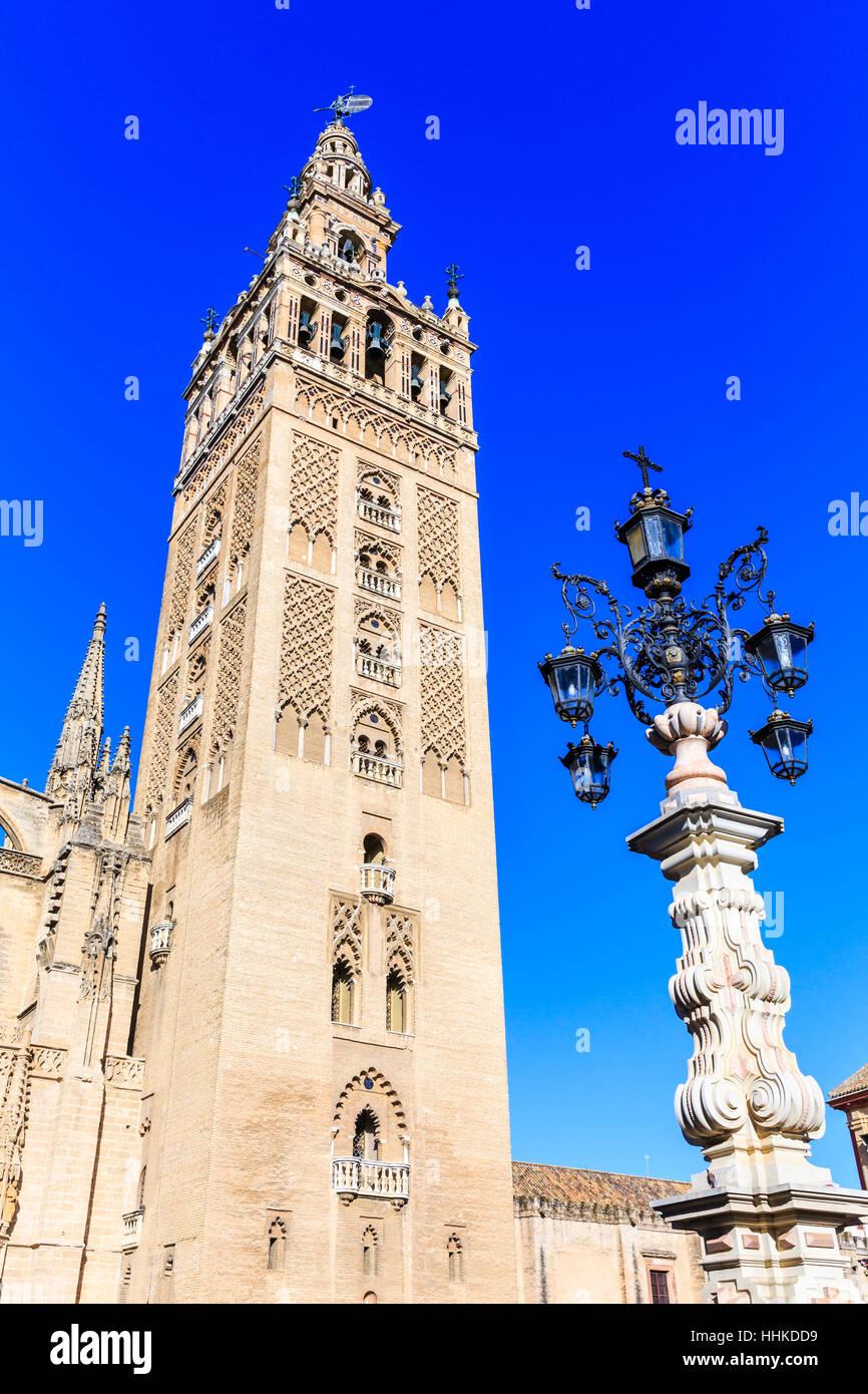 Catedral de Sevilla, Andalucía, España Imagen De Stock