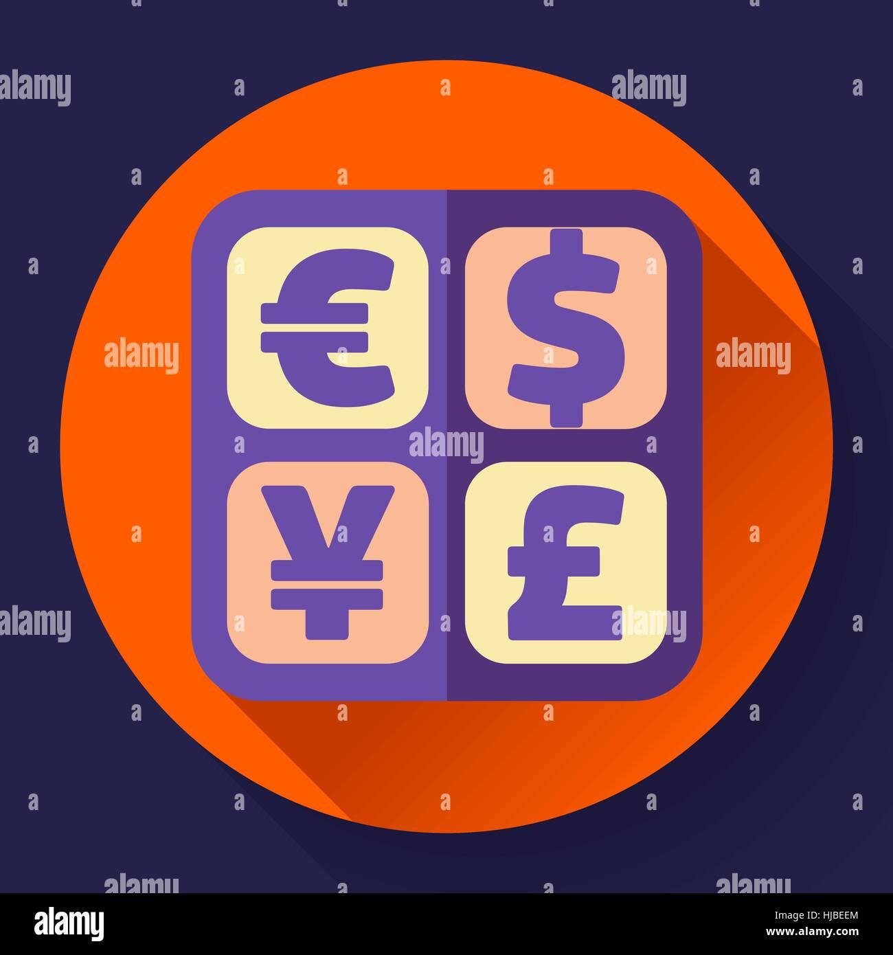 cambio de divisas icono de signo y smbolo del convertidor etiqueta de dinero