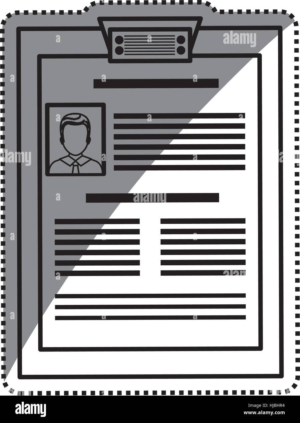 Cv Curriculum Vitae Resume Vector Imágenes De Stock & Cv Curriculum ...