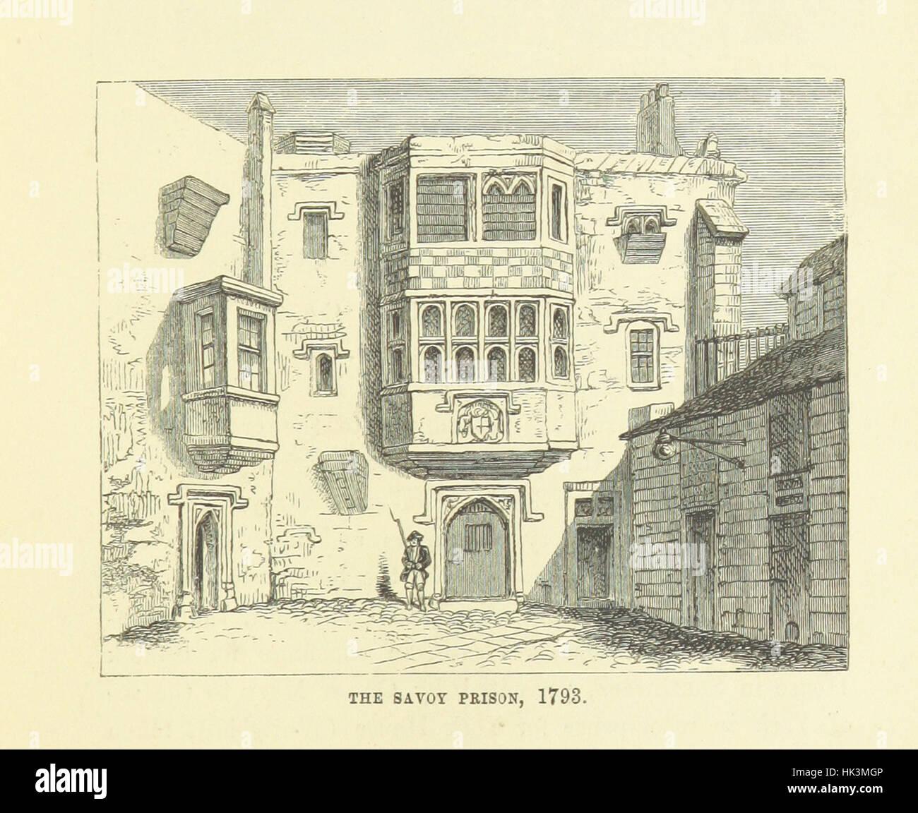 """Haunted Londres ... Ilustrado por F. W. Fairholt imagen tomada de la página 157 de """"Haunted London Imagen De Stock"""