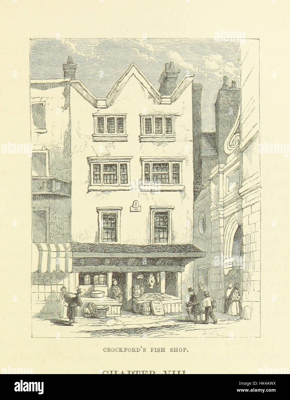 """Haunted Londres ... Ilustrado por F. W. Fairholt imagen tomada de la página 177 de """"Haunted London Imagen De Stock"""