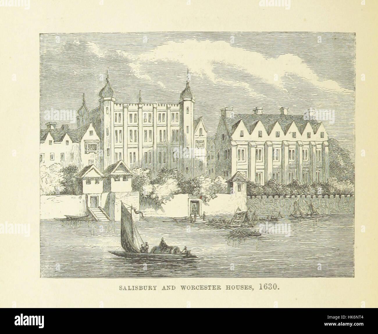 """Haunted Londres ... Ilustrado por F. W. Fairholt imagen tomada de la página 302 de """"Haunted London Imagen De Stock"""