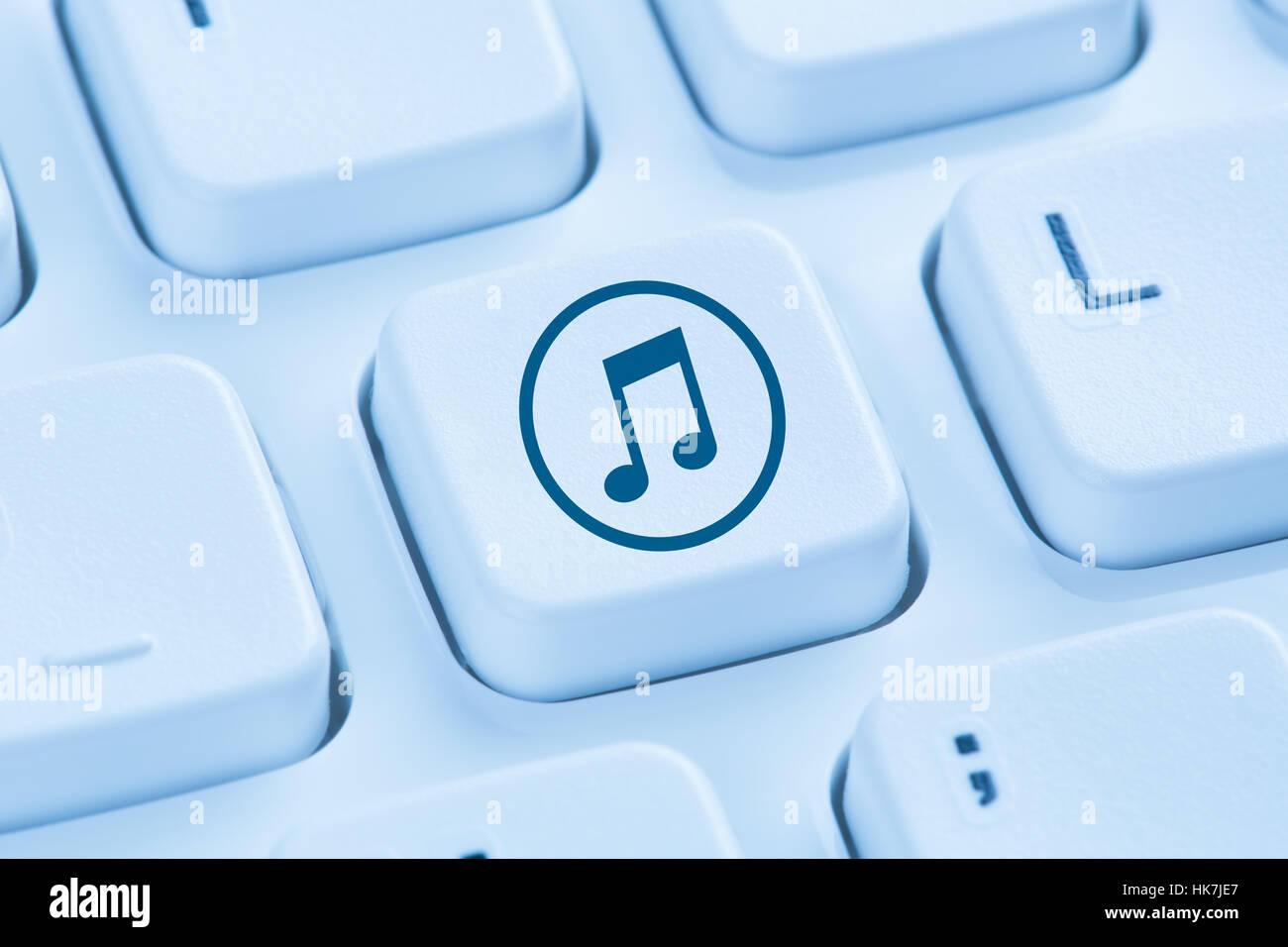 Descargar Descargar Escuchar Streaming De Música Internet Símbolo