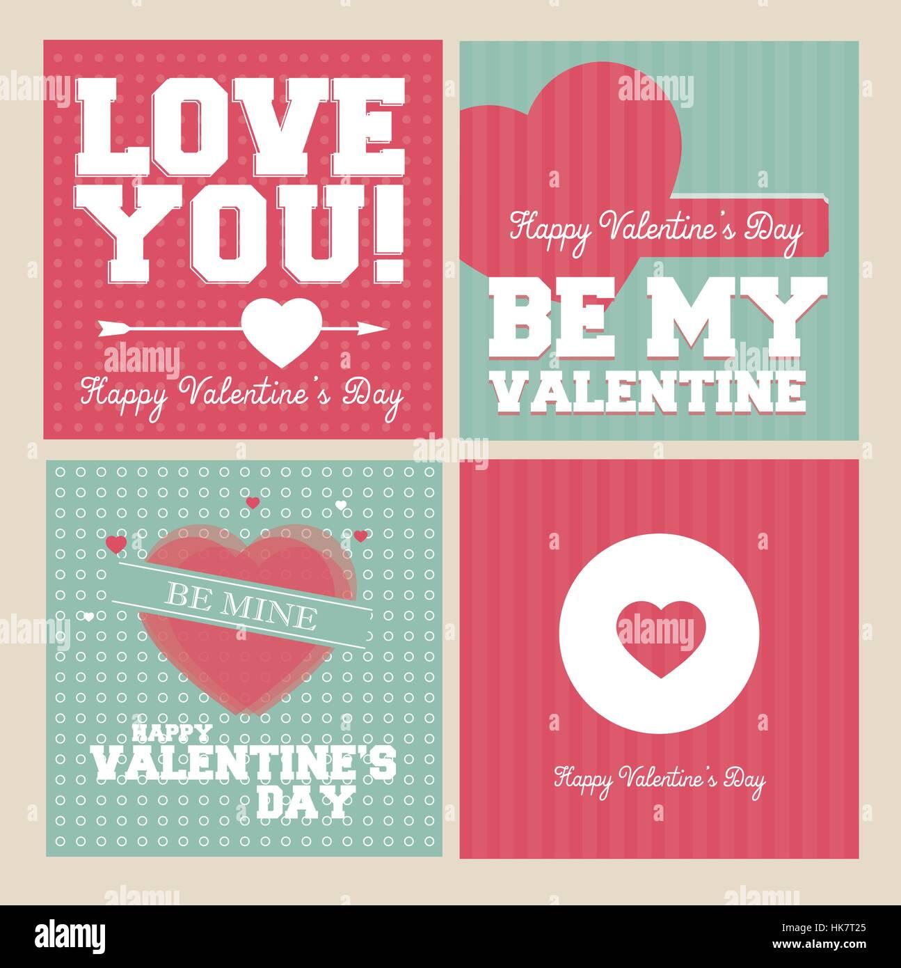 Atractivo Diseño De Uñas Día De San Valentín Viñeta - Ideas Para ...