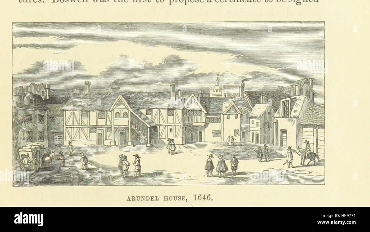 """Haunted Londres ... Ilustrado por F. W. Fairholt imagen tomada de la página 73 del """"Haunted London Imagen De Stock"""