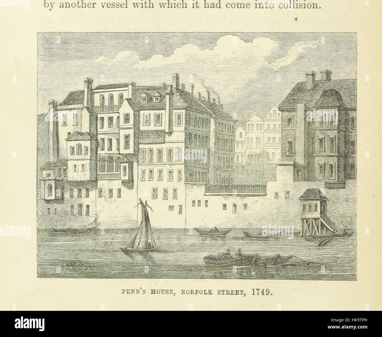 """Haunted Londres ... Ilustrado por F. W. Fairholt imagen tomada de la página 82 de """"Haunted London Imagen De Stock"""
