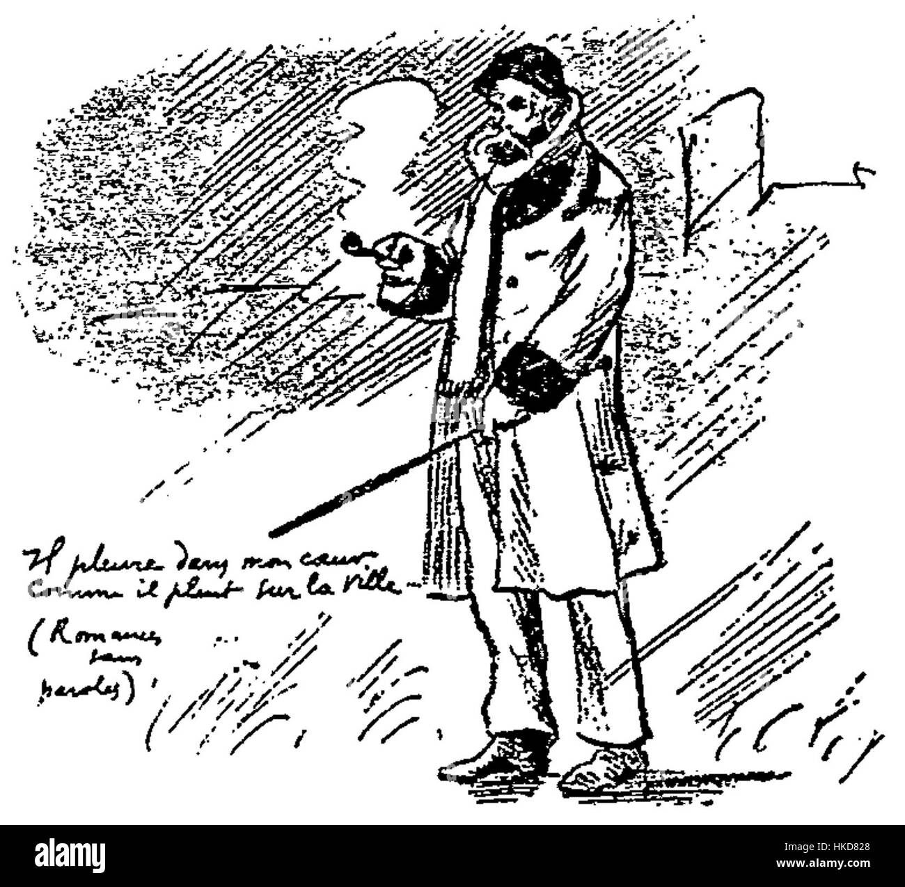 Drawing By Paul Verlaine Imágenes De Stock Drawing By Paul