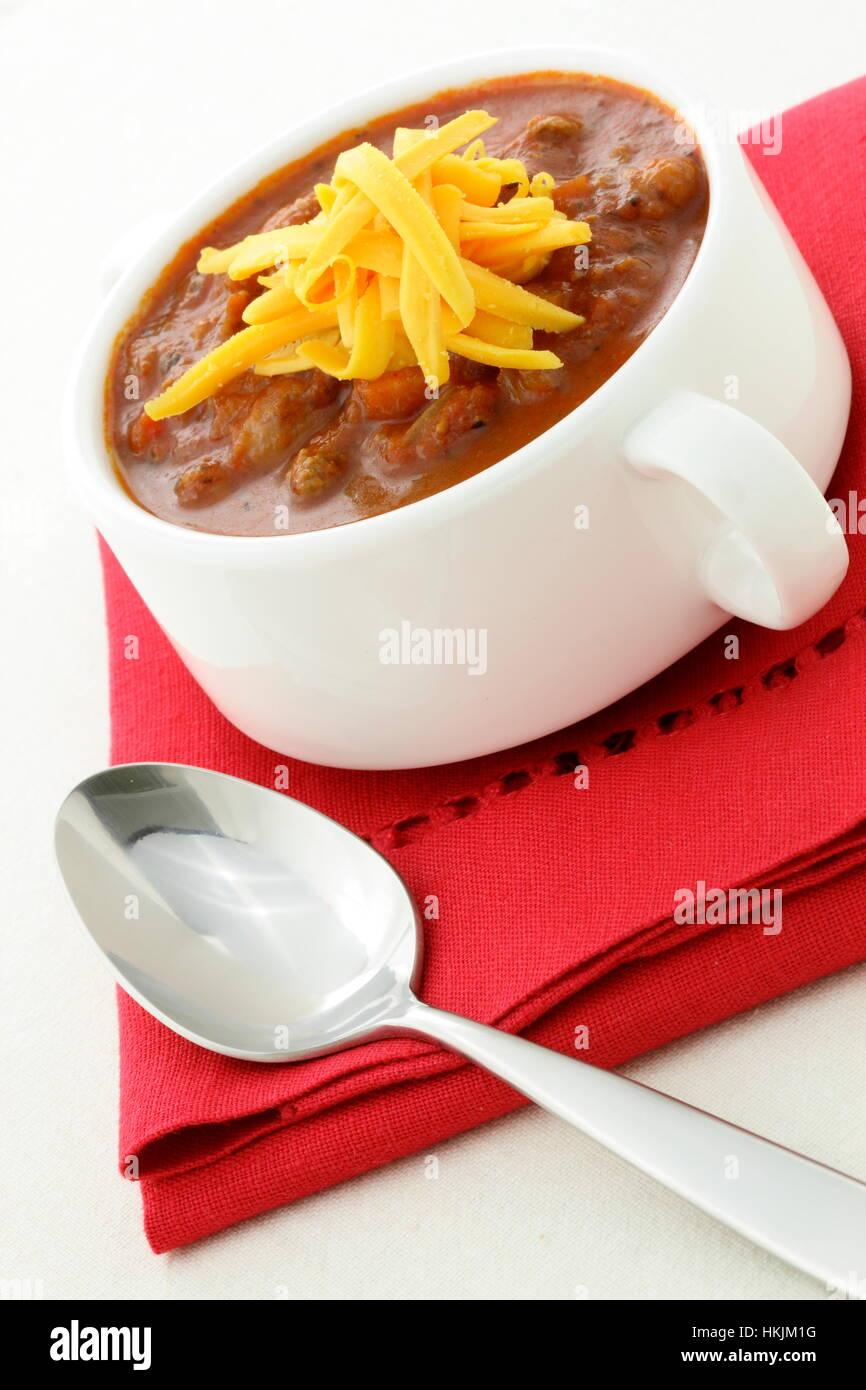 59af1f631 Chili Beans hecha con habas, magro de ternera picada, chili en polvo, pasta  de tomate y otros deliciosos ingredientes, esta gran receta de chili puede  ser ...