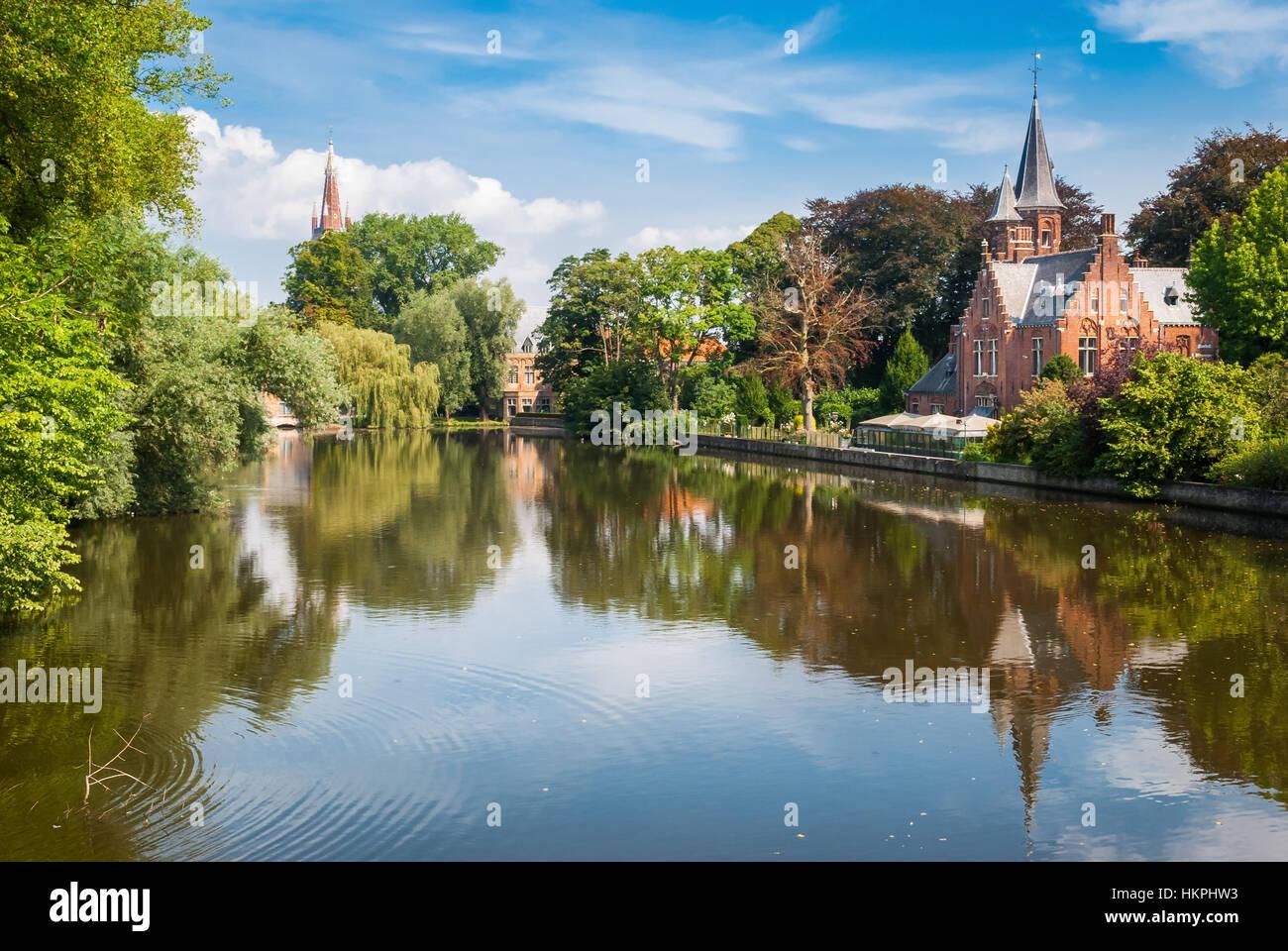 Brujas, Bélgica Foto de stock