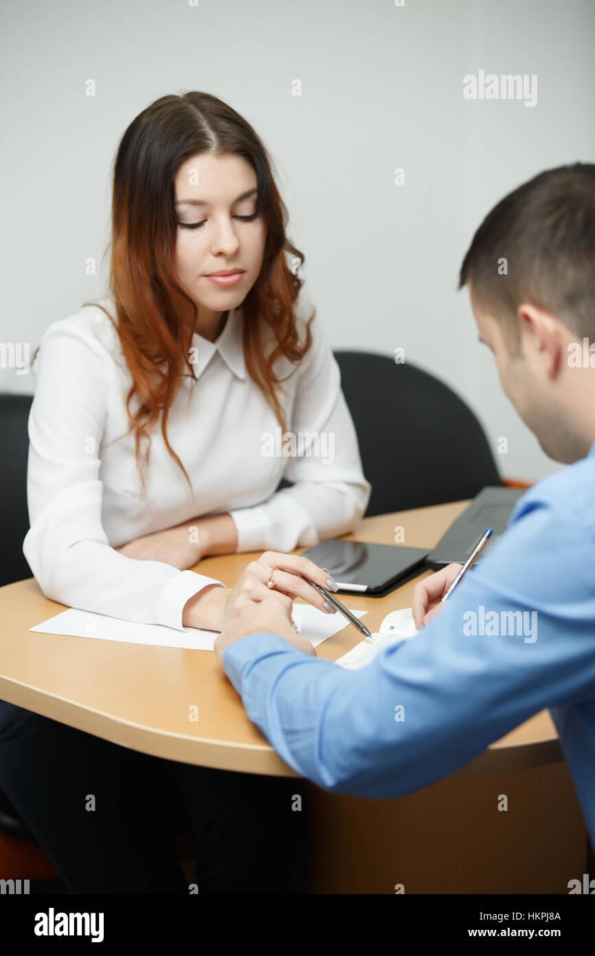 Imagen del hombre de negocios trabajando Imagen De Stock