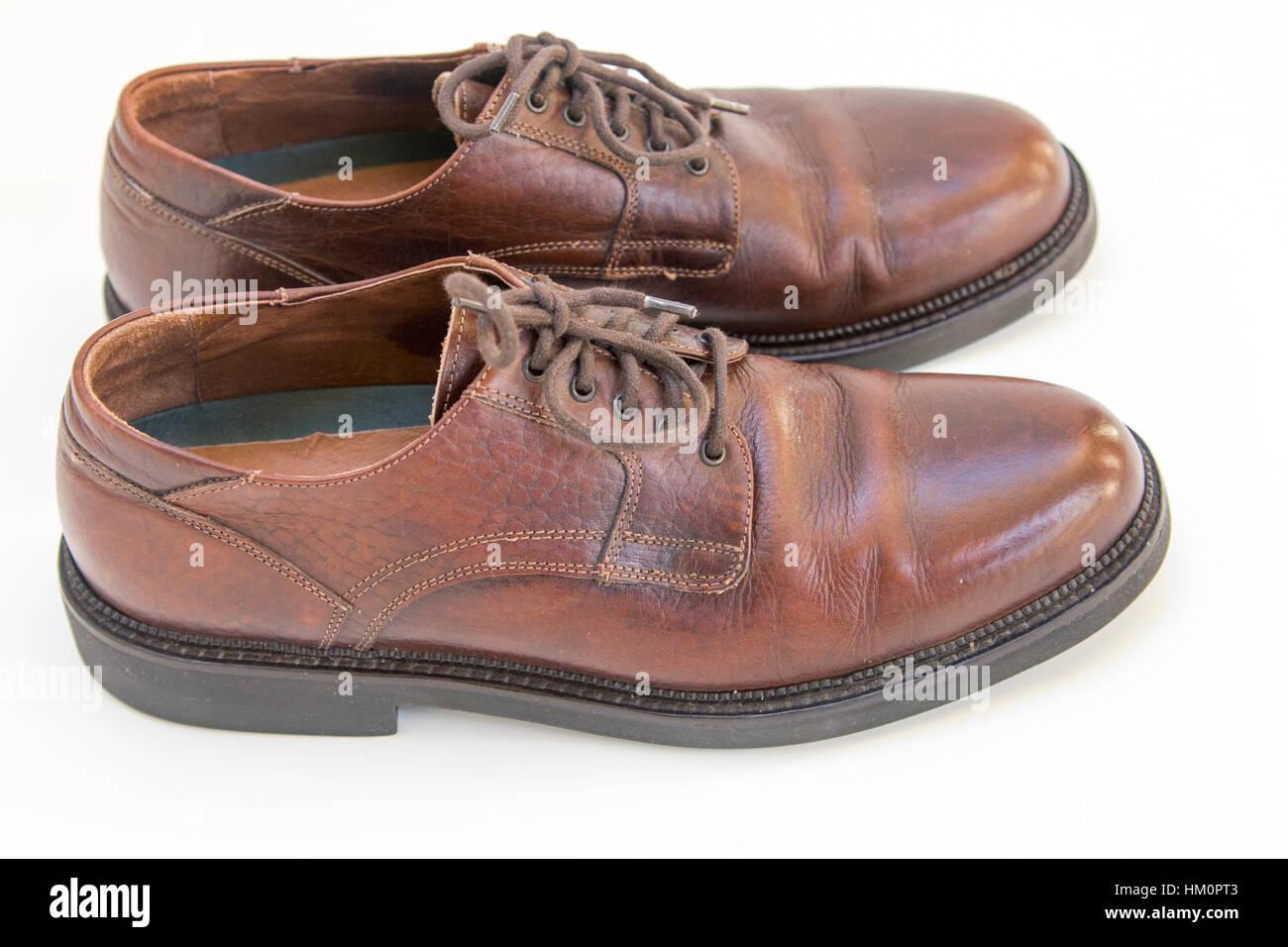 Zapatos gastados Imagen De Stock