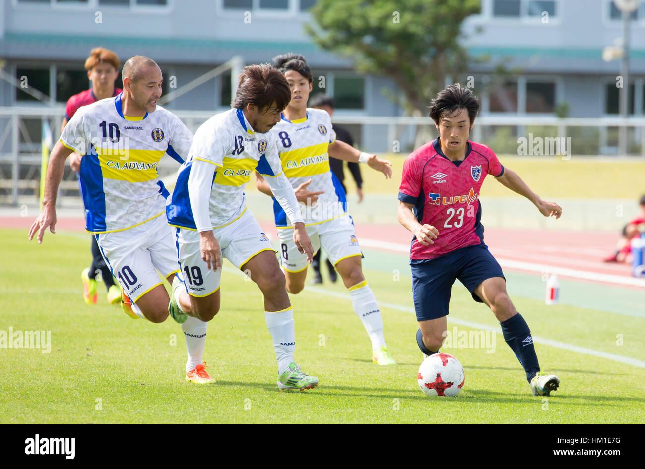 kunigami-okinawa-japon-28-ene-2017-r-l-shoya-nakajima-fc-tokyo-reiya-kinoshita-yusuke-mori-naohiro-takahara-okinawa-sv-enero-28-2017-futbol-soccer-formacion-partido-entre-el-fc-tokyo-y-okinawa-sv-en-kunigami-okinawa-japon-credito-wataru-kohayakawa-aflo-alamy-live-news-hm1e7g.jpg
