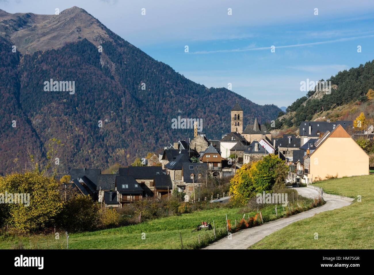 Vilamos valle de aran pirineos catlunya espa a foto - Inmobiliarias valle de aran ...