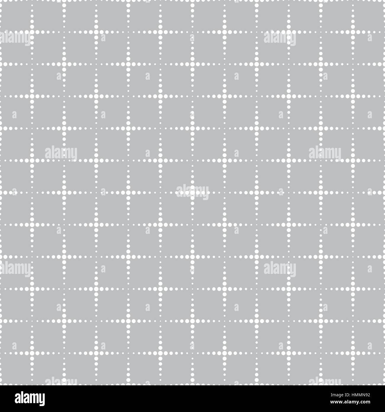 Patrón sin fisuras. Textura geométrica con cuadrados punteados de ...