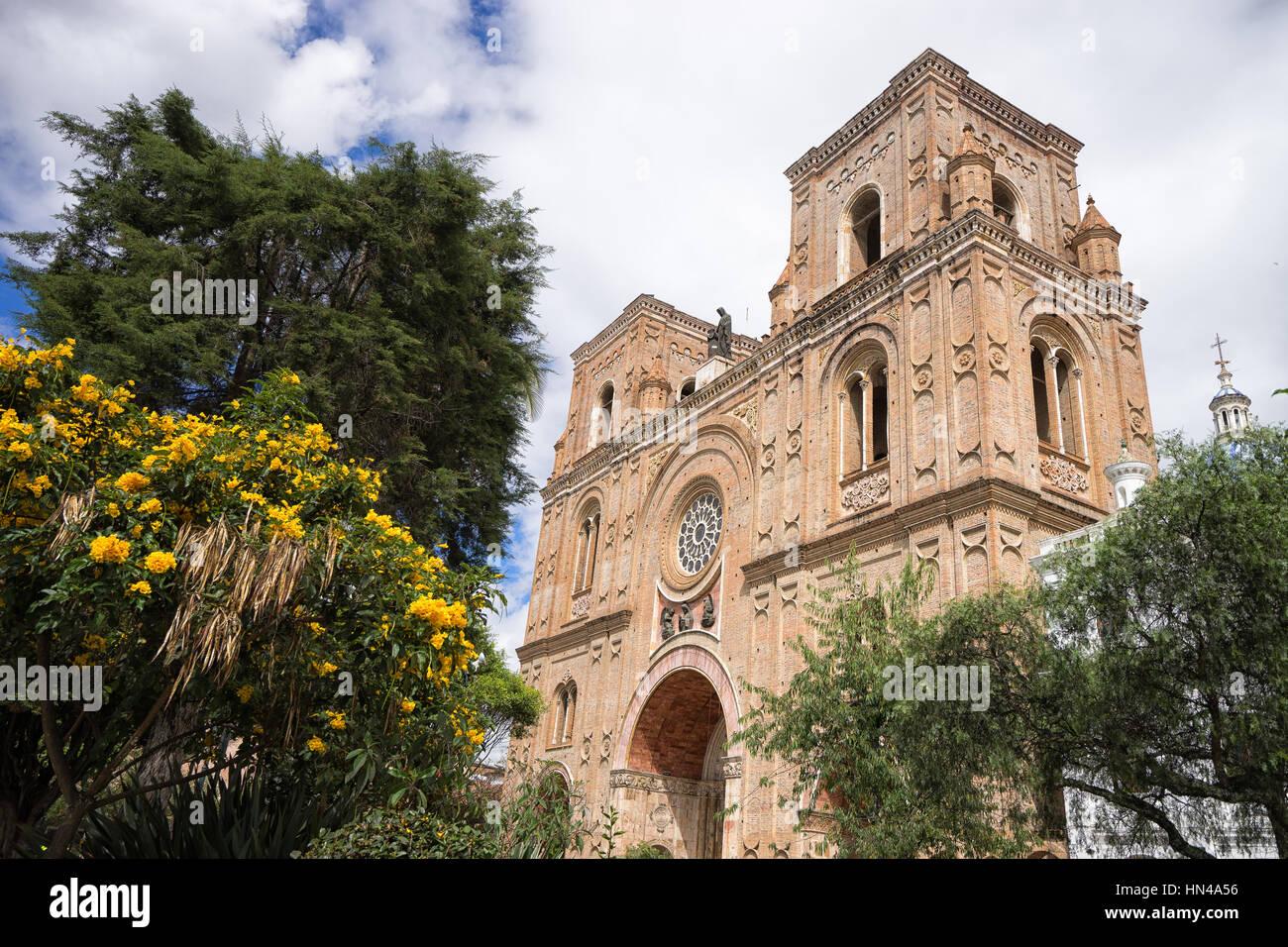 Catedral de Cuenca Ecuador Imagen De Stock