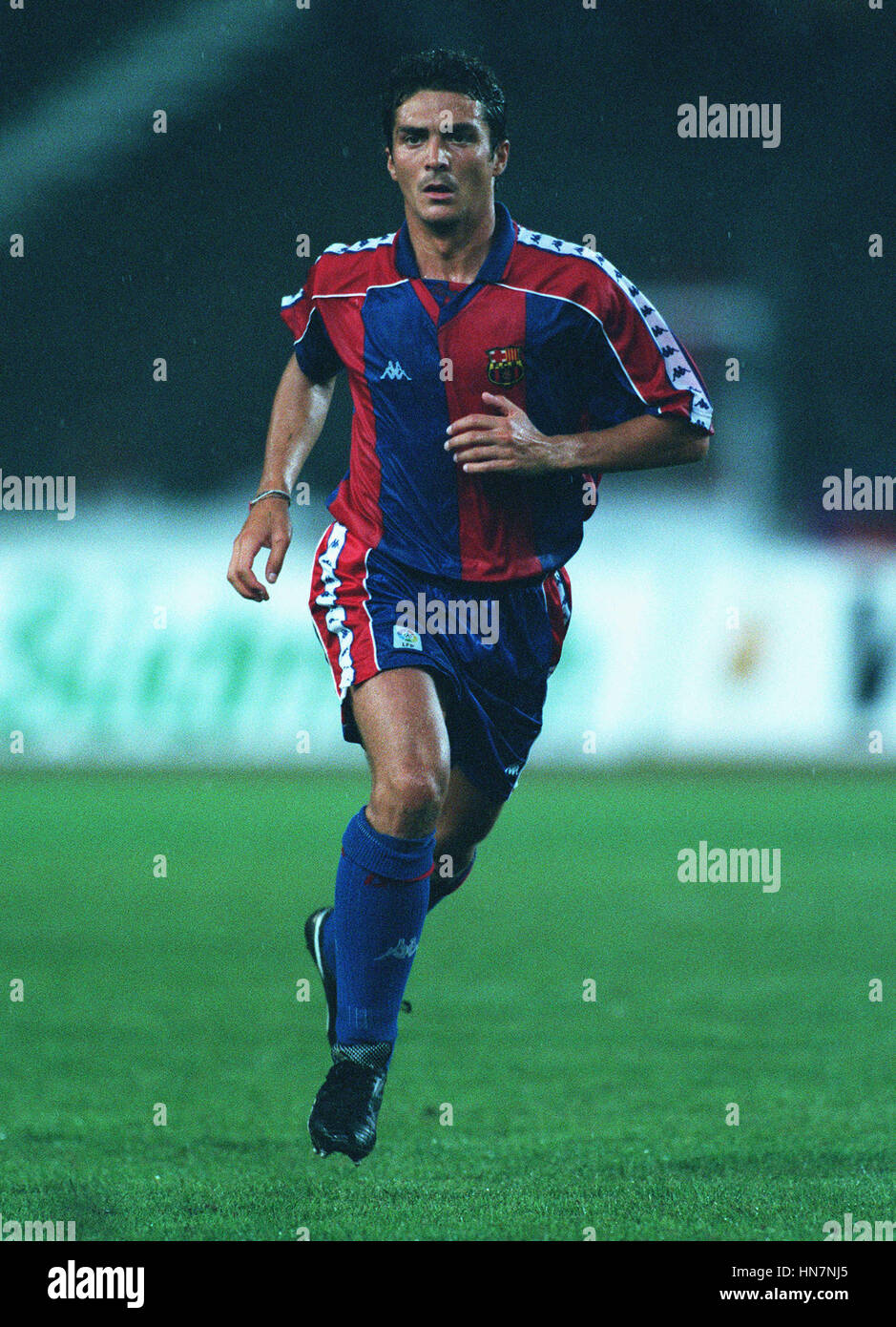 AMOR GOIUERMO FC Barcelona el 14 de agosto de 1994 Foto de stock
