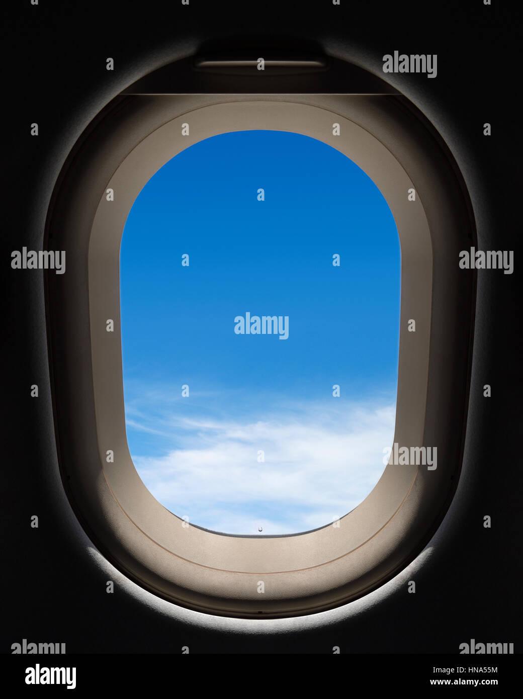 Ventana de avión Imagen De Stock