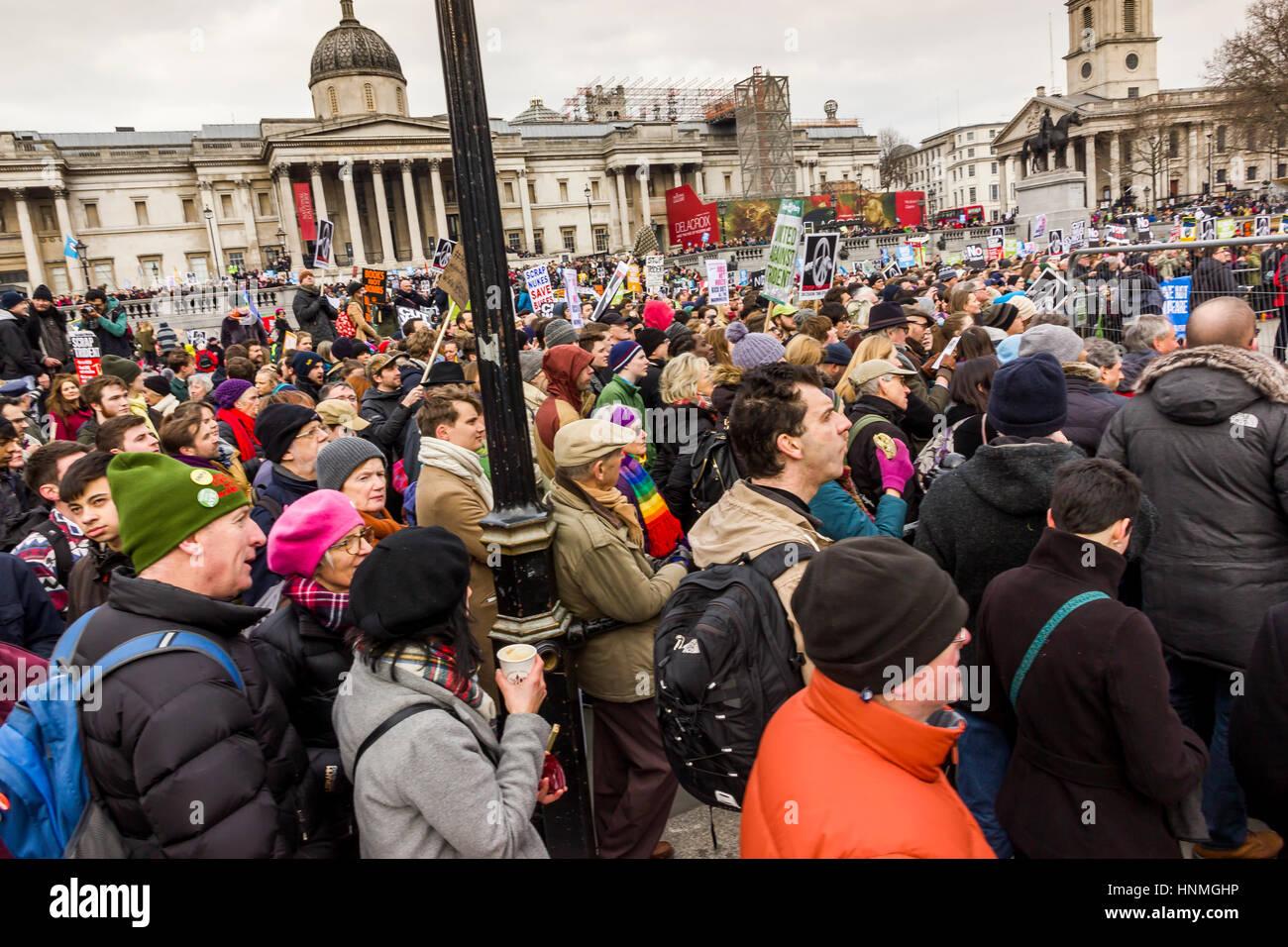 Rally de la CND, Londres 2016 Imagen De Stock