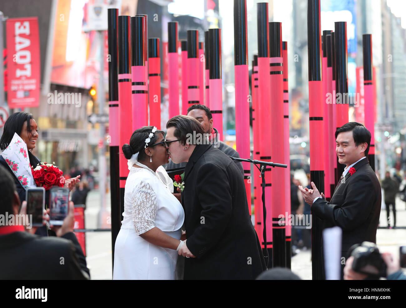 Contemporáneo Votos De Boda Viste Nueva York Colección de Imágenes ...