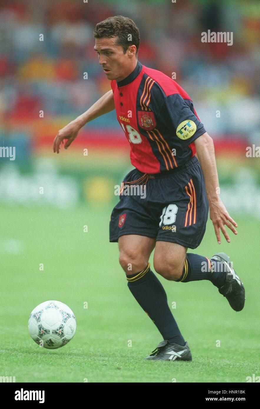 GUILLERMO AMOR DE ESPAÑA Y EL FC BARCELONA El 22 de junio de 1996 Imagen De Stock