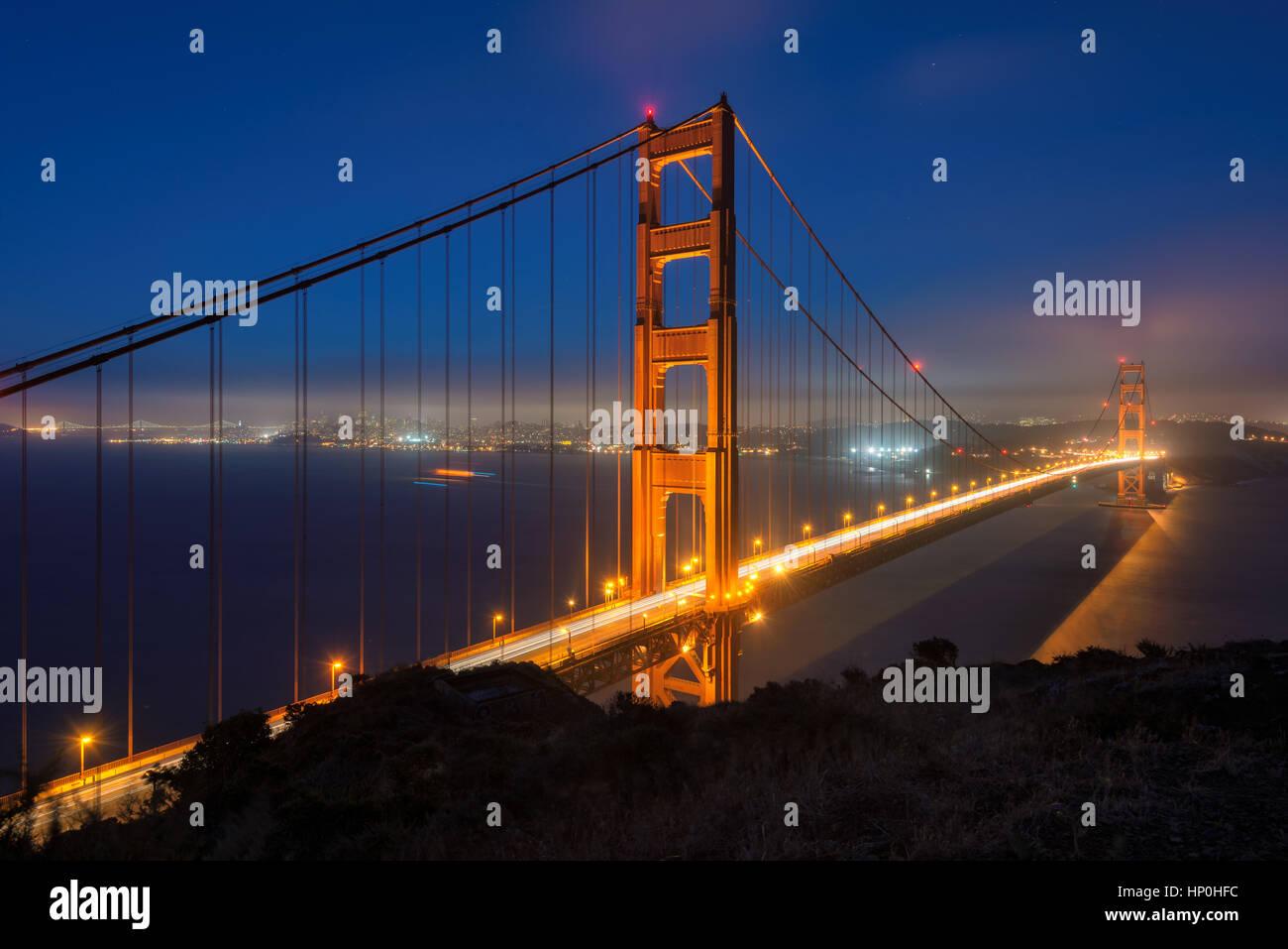 Puente Golden Gate Foto de stock