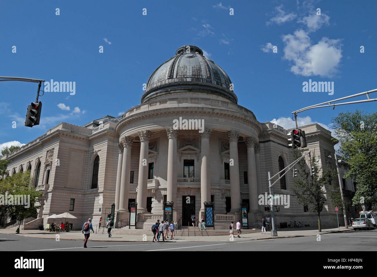 Woolsey Hall, Universidad de Yale, un estadounidense Ivy League universidad privada de investigación en New Imagen De Stock