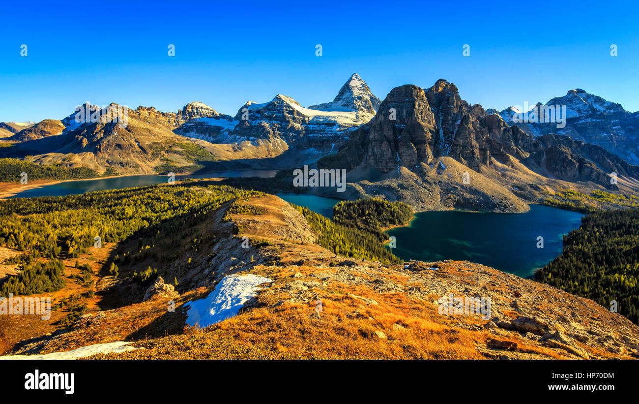 Mt Assinniboine Provincial Park, Canadá Imagen De Stock