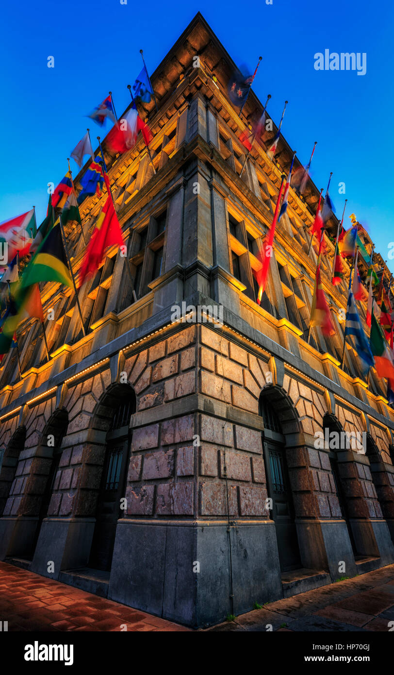 El Ayuntamiento de Amberes Imagen De Stock
