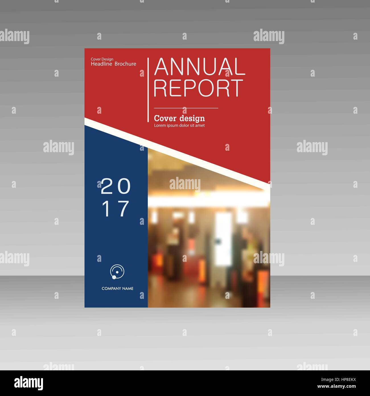 Informe anual folleto flyer A4 plantilla diseño vectorial, diseño de ...
