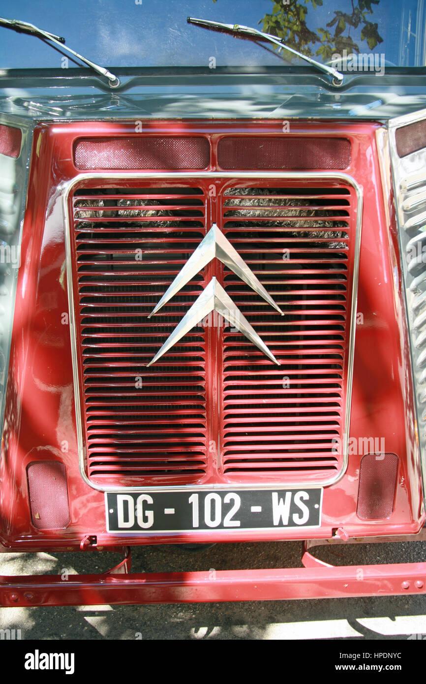 Clásico Citroën H Van Foto de stock