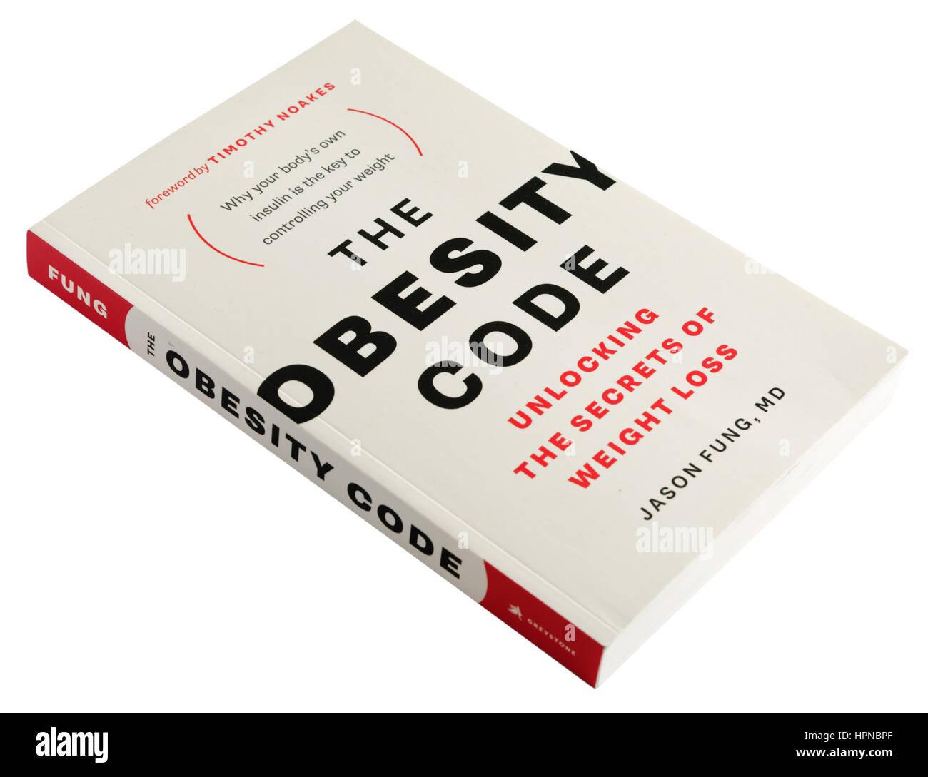 La Obesidad Código por Jason Fung Imagen De Stock