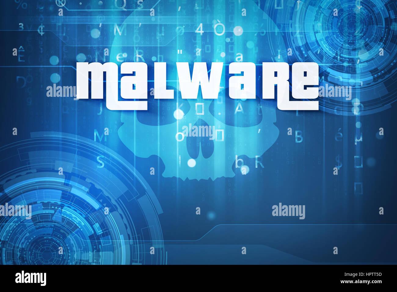 Software malintencionado Imagen De Stock
