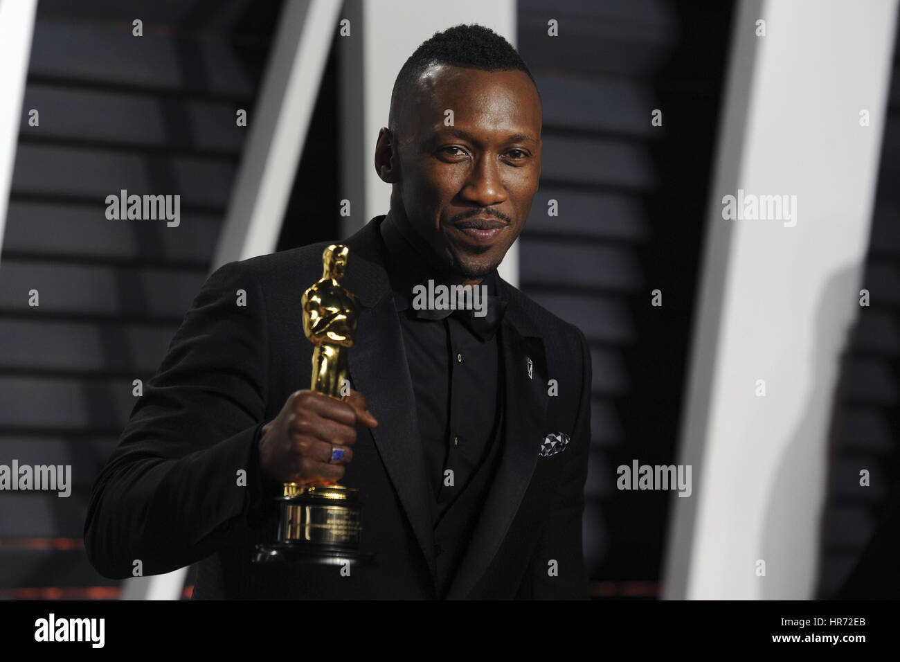 Beverly Hills, California. 26 Feb, 2017. Ali Mahershala atiende el 2017 Vanity Fair Oscar Party organizada por Graydon Imagen De Stock