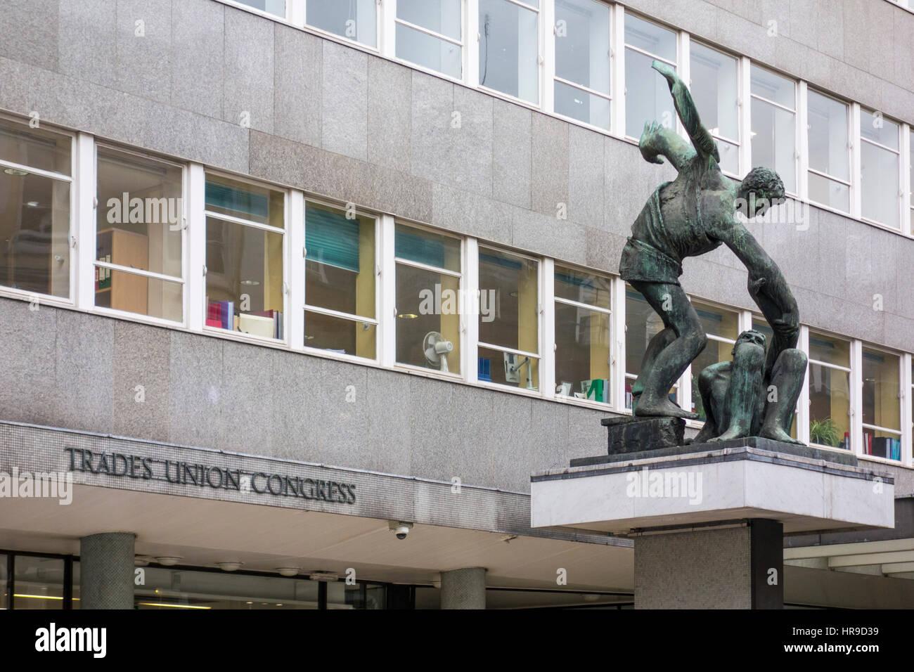 TUC, Trades Union Congress Building, Londres, Reino Unido Imagen De Stock