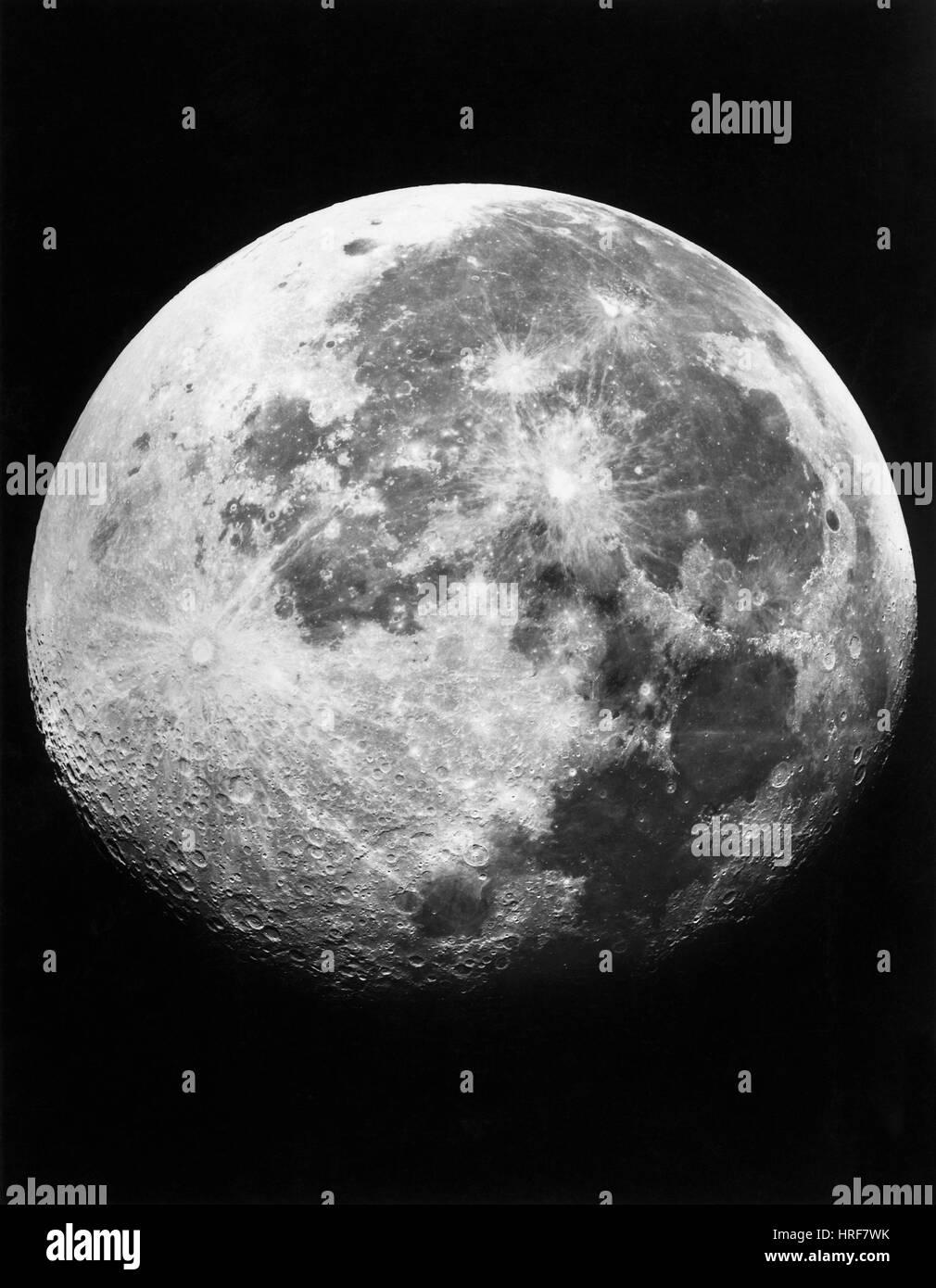 Luna Foto de stock
