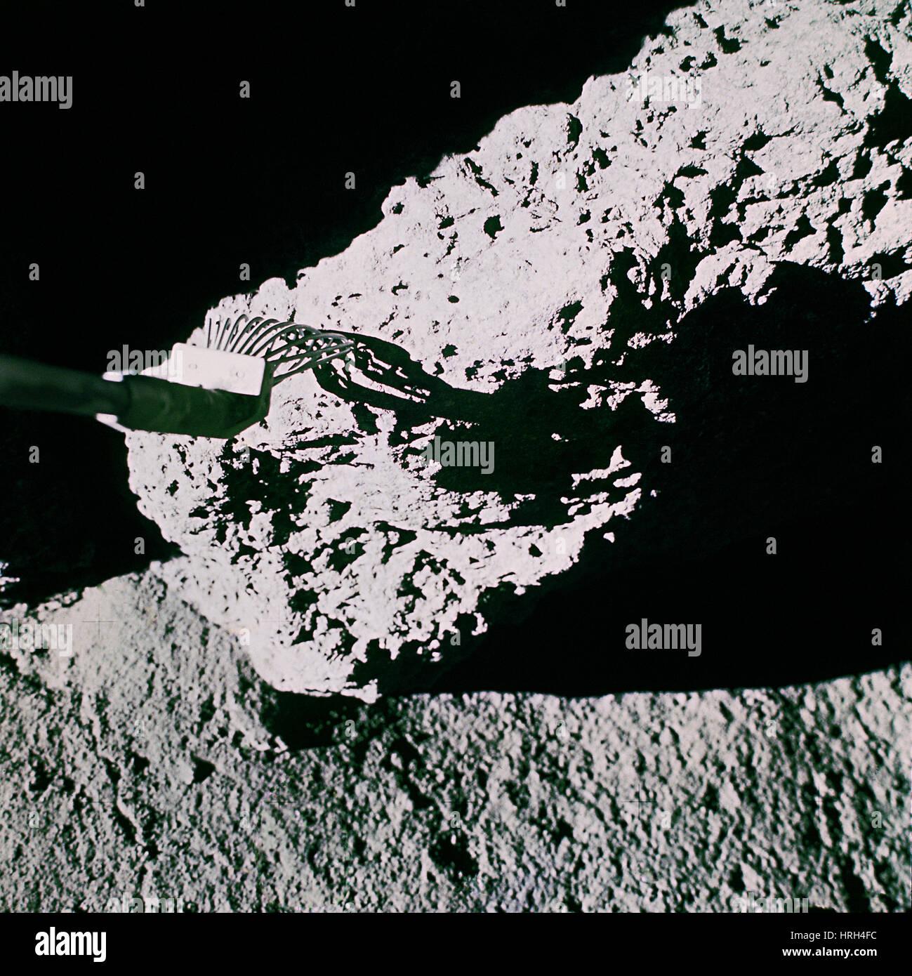 El Apolo 15 la recolección de la muestra Imagen De Stock